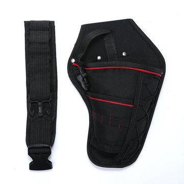 Electrician Waist Pocket Tool Belt Pouch Bag Screwdriver Utility Kit Holder