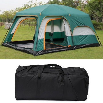 Outdoor 10-12 People Large Outdoor Camping Tent Waterproof Rainproof Sunshade Canopy