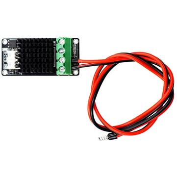 39g Mini Hot Bed Heatbed MOS High Power MOSFET Expansion Module With 15A Power Cable For 3D Printer Ramps 1.4