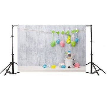 5x3ft Easter Colorful Eggs Thin Vinyl Photography Backdrop Background Studio Photo Prop