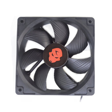 12V DC 3000RPM 12CM Cooling Fan High Speed Dual Ball Bearing Air Mining Cooling Fan Heatsink