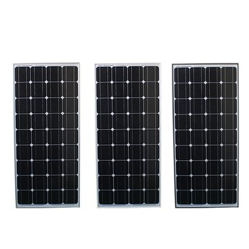 Elfeland® SP-100W12V 1200x540x30mm 100W Solar Panel For 12V Battery 5M Cable Motor Home Caravan Boat Camp Hiking