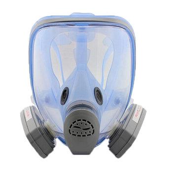9900A Silikon Gaz Maske Tam Yüz Antivirüs Maskesi
