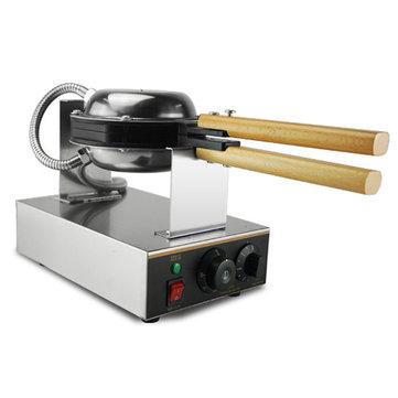 220V/110V Commercial Electric Eggettes Puff Cake Waffle Maker Machine Mubble Egg Cake Oven