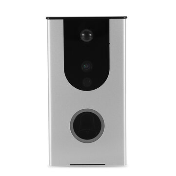 Wireless WiFi Doorbell Home Security Monitor Phone Intercom Remote Video Camera