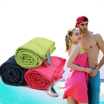 Santo 80 x 130cm Microfiber Polyester Towel Quick Drying Outdoor Sports Swimming Washcloth