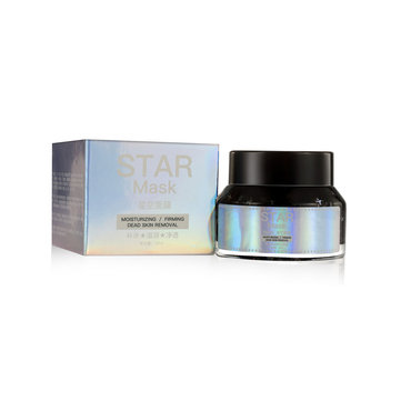 Star Mask Glitter Gold Peel off Black Face Mask Blackhead Remover Skin Care