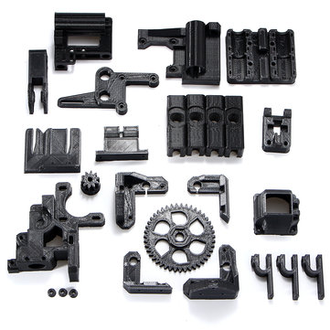 DIY ABS Material Black 3D Printed Parts Kit For RepRap Prusa i3