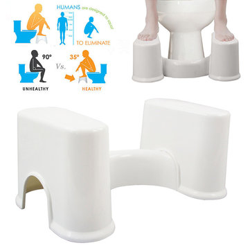 ABS Detachable Portable Toilet Stool Prevent Constipation Footstool Correct Position for Defecation