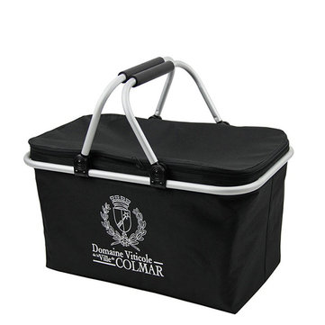Folding Insulated Storage Basket Lunch Pinic Shopping Laundry Baskets
