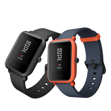 Original Xiaomi AMAZFIT Bip Peace Youth Bluetooth GPS 4.0 IP68 Smart Watch International Version