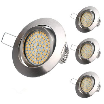 LUSTREON 3.5W 68 LED Round LED Ceiling Light Non-dimmable Recessed Downlight Spotlight AC220-240V