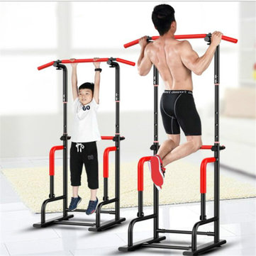 Indoor Horizontal Bar Adjustable Height Multi-functional Pull-ups Station Fitness Slimming Equipment