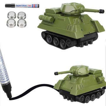 Magic Car Pen Inductive Toy Tank Follow Any Drawn Line Mini Truck Bus Tank Kid Gift