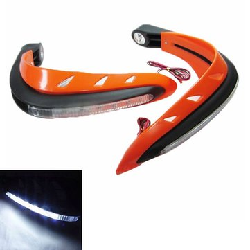 Universal Motorcycle Motorcross LED Handguards Dirt Bike Hand Guards