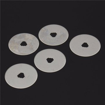 5pcs 45mm Rotary Cutter Blades Fit For Olfa Fiskars Clover Rotary Cutter