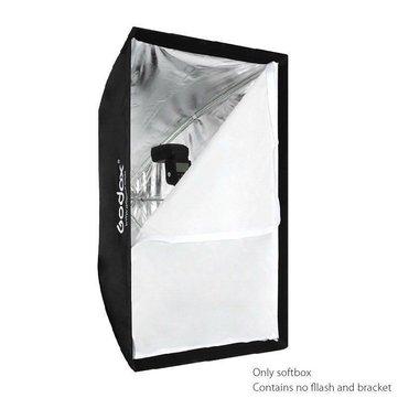 Godox Portable 60 x 90cm Umbrella Photo Softbox Reflector for Flash Speedlight