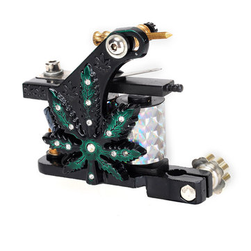 Z200 Carbon Steel Casting Tattoo Machine High Stability Body Art 7000-9000 R/Minute Black