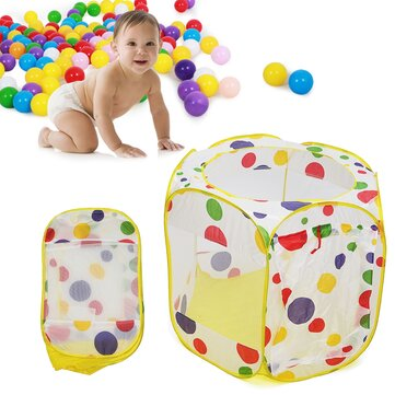 Foldable Children Ocean Ball Pool Toy Play Tent Playpen For Indoor Outdoor Game