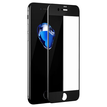 Baesue0,23Anti-BlauwLichtZachtPET 3D Gebogen Edge Tempered Glass Screen Protectors voor iPhone 7