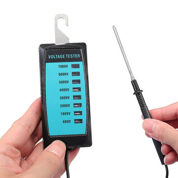 Electric Fence Voltage Tester 600V To 7000V Pet Electronic Fence No Battery Voltage Tester