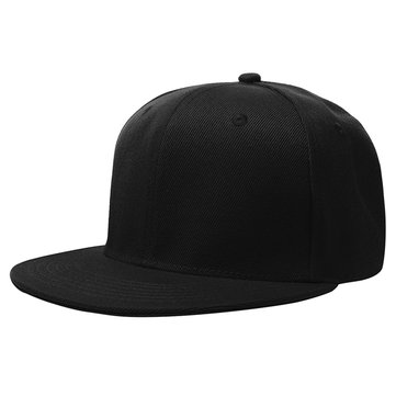 58cm Men Women Plain Fitted Cap Solid Flat Blank Color Baseball Hat
