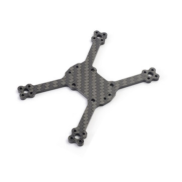 Diatone 2018 GT-R90 Carbon Fiber FPV Racing Drone Spare Part Integrated Frame Arm Lower Plate 3mm