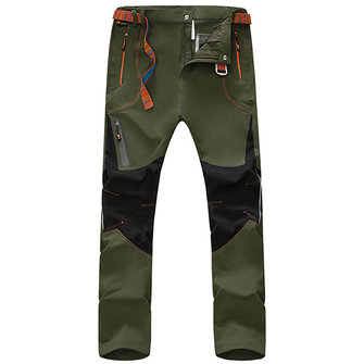 Outdoor Sports Men's Elastic Pants Casual Night Light Waterproof Speed Dry Biking Pants