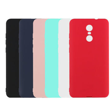 Candy Color Scrub TPU Soft Protective Case For Xiaomi Redmi Note 4/Redmi Note 4X 4G+64G
