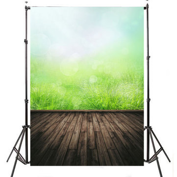 7x5FT Grass Theme Photography Vinyl Backdrop Studio Background 2.1m x 1.5m