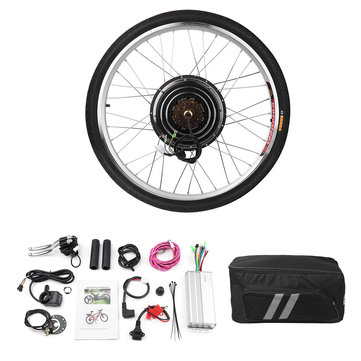 48V 1000W Electric Bike Scooter Motor Conversion Kit EBike Speed Rear Wheel Set