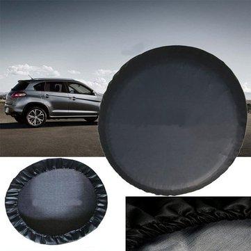 15 inchs черный ПВХ кожа запасное колесо покрышка водонепроницаемый размер м для джипа сув универсальный автомобиль