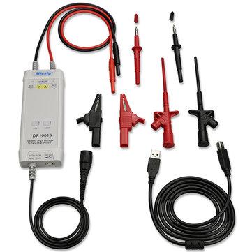 Micsig DP10013 100MHz 3.5ns Temps de Gonflement 50X / 500X Oscilloscope de Taux d'Atténuation Haute Tension Différentielle Sonde Kit 1300V