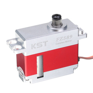 Original KST FZ589 Micro Digital Servo 8KG Coreless Metal Gear para modelos RC