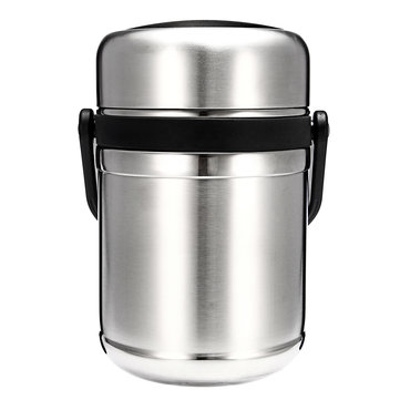 Outdoor Stainless Steel Hiking Working Vacuum Lunch Box Stainless Steel Hot Food Container Heat Preservation With Lid