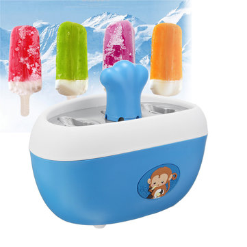 Quick Pop Juice Popsicle Maker Ice Frozen Pops Non-stick Cast-Aluminum Mold Blue Home Appliance