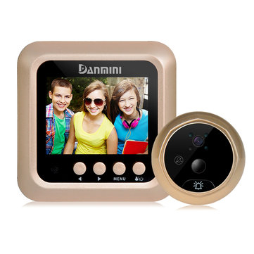 2.4 inch LCD TFT HD Peephole Viewer Door Eye Video Doorbell IR Camera Motion Detection