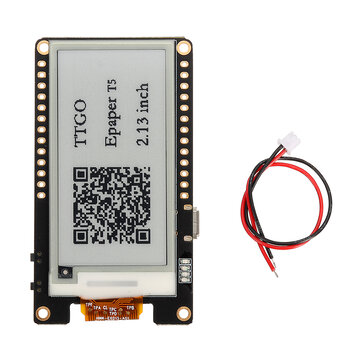 Wemos® T5 V2.0 TTGO WiFi Wireless Module Bluetooth Base ESP-32 ESP32 2.13 ePaper Display Development Board