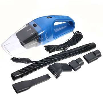 12V 120W Portable Wet & Dry Car Home Mini Handheld Vacuum Cleaner