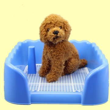 Indoor Pet Dog Fence Toilet Training Pad Plastic Tray Mat Pet Supplies Toilet Potty Pad Urine Splash
