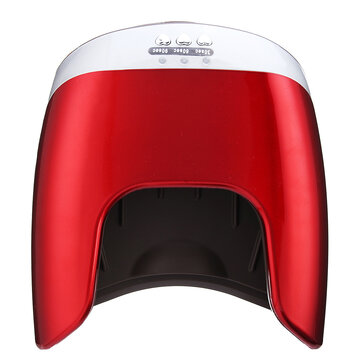 UV Gel Polish LED Nail Lamp Nail Dryer Curing Light with Bottom 30s/60s/90s Timer LCD Display 48W