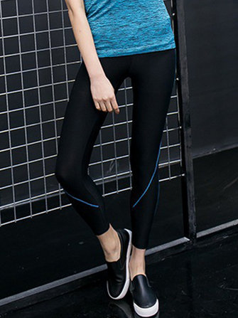 Women High Elastic Waist Running Sport Yoga Leggings