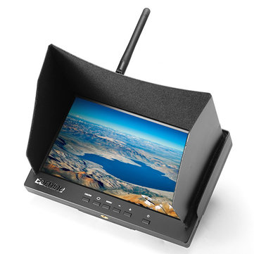 Eachine LCD5800D 5.8G 40CH 7 Inch HD FPV Monitor with DVR Built-in Battery