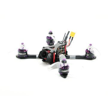 SPC Maker 140X FPV Racing Drone PNP Omnibus F4 20A Blheli_S ESC 5.8G 25/100m VTX RunCam Micro Cam