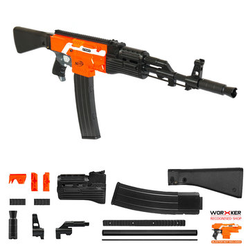 Worker MOD F10555 AK47 Imitation Kit 3D Printing Combo For STRYFE Modified Toy Part For Nerf
