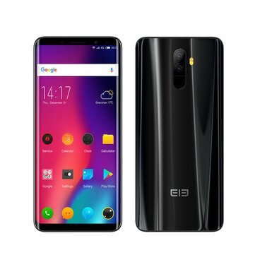 Elephone U 5.99 Inch AMOLED Flexible Curved Display 4GB RAM 64GB ROM MTK6763 2.0GHz 4G Smartphone