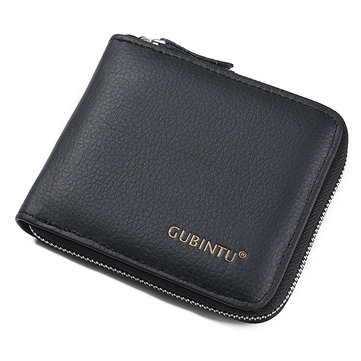 Genuine Leather Multifunction Wallet for Men
