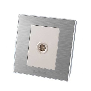 TV Wall Socket Panel TV Outlet Electric Socket 220V 10A