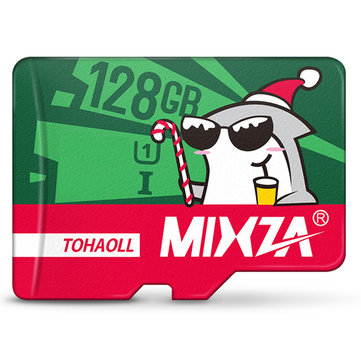 MIXZA Christmas Edition 128GB U1 TF Memory Card