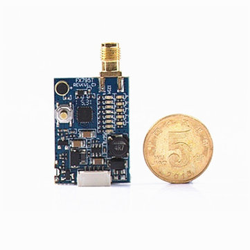 FX795T-2 5.8G Switchable 25mW/200mW 40CH Raceband AV Transmitter With Antenna For FPV Multicopter